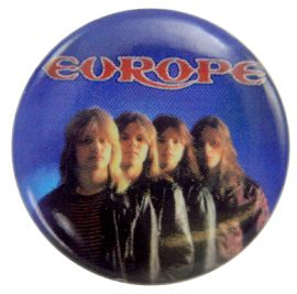Europe - 'Group Blue' Button Badge